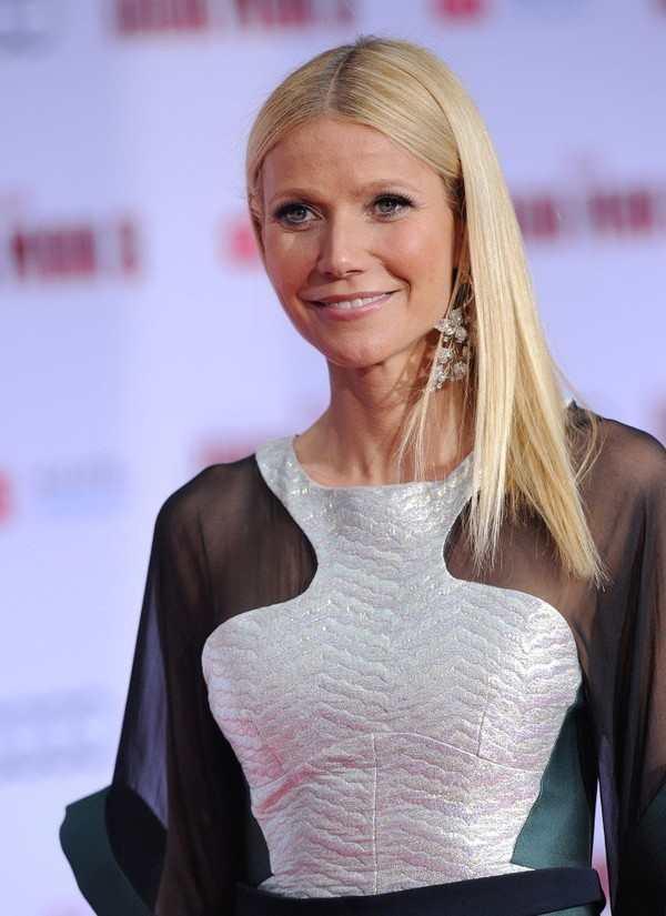 Gwyneth Paltrow at 'Iron Man 3' Premiere in Hollywood on April 24, 2013
