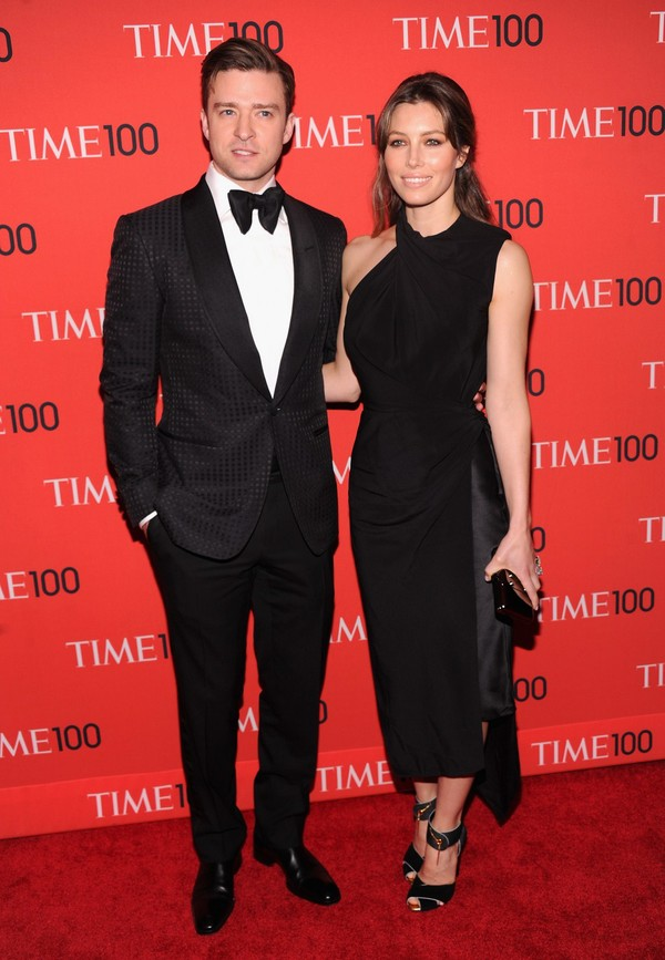 Jessica Biel at the Time 100 Gala 2013 in New York City on April 23, 2013
