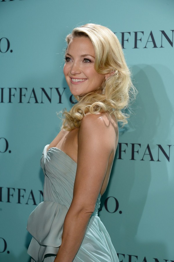 Kate Hudson at Tiffany & Co. Blue Book Ball Celebrations in New York City on April 18, 2013