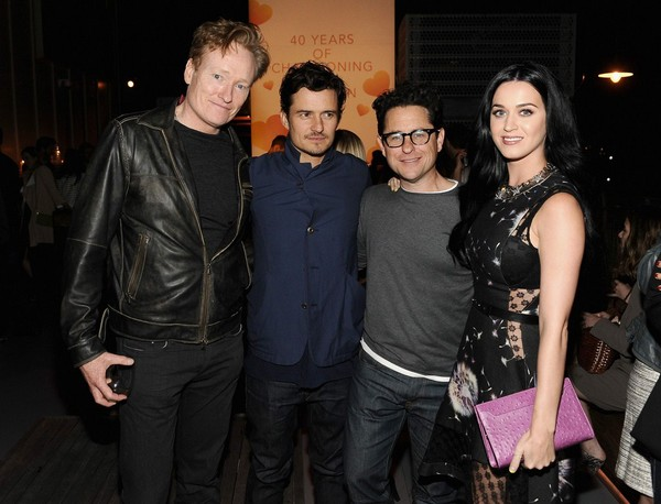 Katy Perry at Coach's 3rd Annual Evening of Cocktails & Shopping Benefit on April 10, 2013