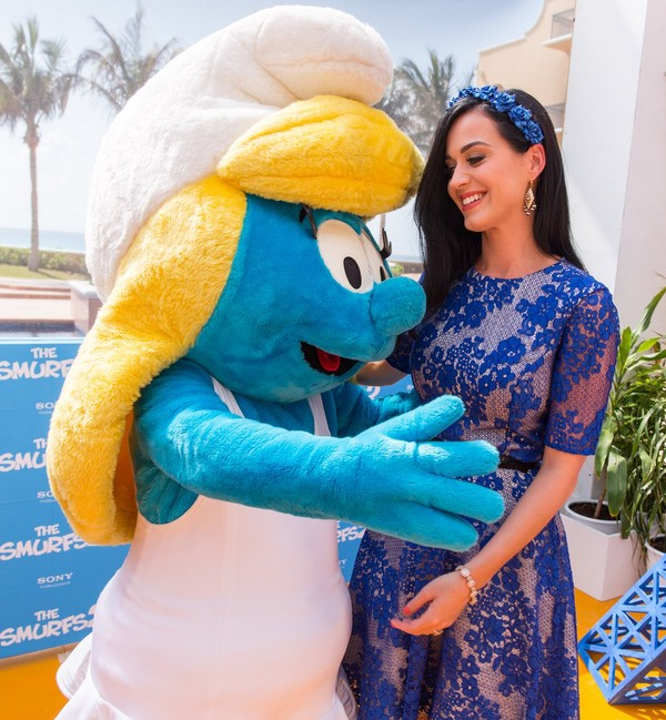 Katy Perry at 'The Smurfs 2' Photocall in Cancun, Mexico on April 22, 2013