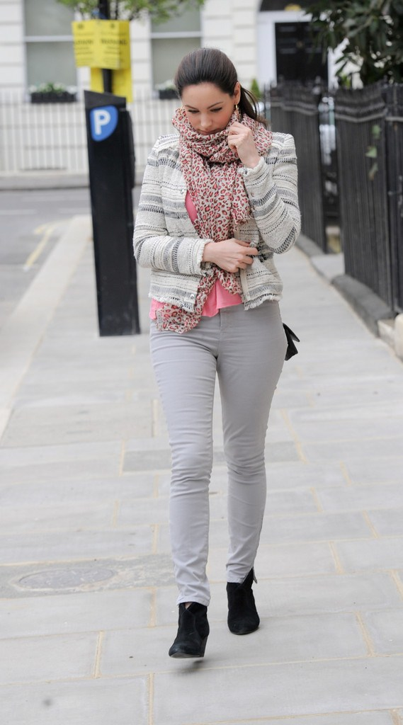 Kelly Brook out and about in London on April 29, 2013