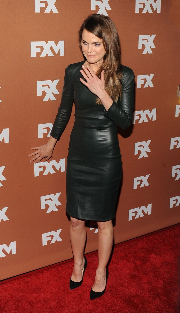 Keri Russell at 2013 FX Upfront Bowling Event in New York City on March 28, 2013