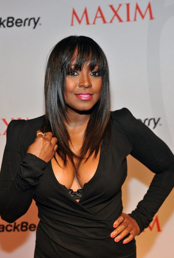 Keshia Knight Pulliam at Maxim and BlackBerry Party In Atlanta on April 6, 2013