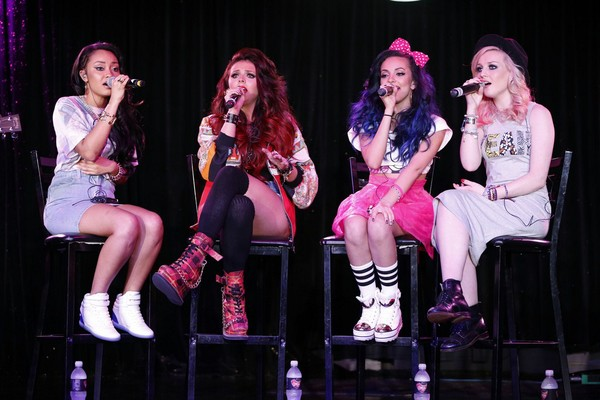 Little Mix at the Conga Room in L.A. on April 3, 2013