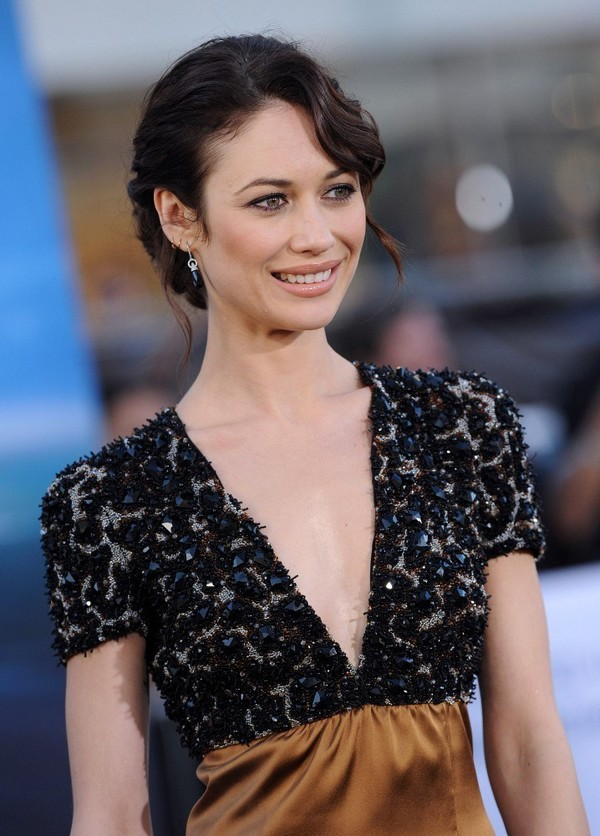Olga Kurylenko at the 'Oblivion' Premiere in Hollywood on April 10, 2013