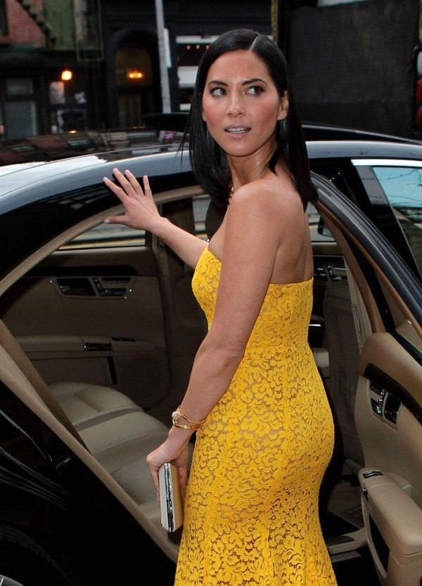 Olivia Munn Leaving her Hotel in New York on April 23, 2013