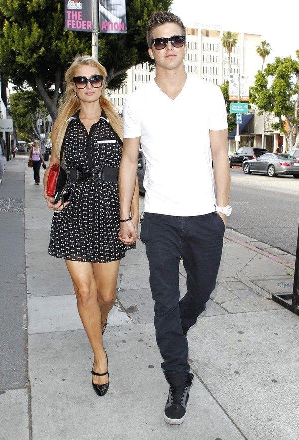 Paris Hilton Shopping at Kitson in Beverly Hills on April 5, 2013