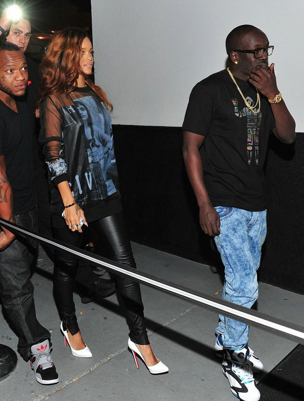 Rihanna at Magic City Night Club in Atlanta on April 22, 2013