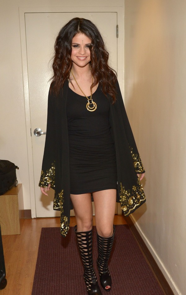 Selena Gomez at 'The Late Show With David Letterman' in New York on April 24, 2013