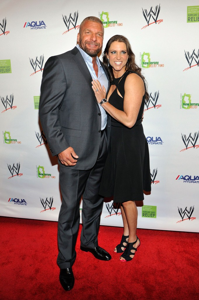 Stephanie McMahon at Superstars for Sandy Relief in New York on April 4, 2013