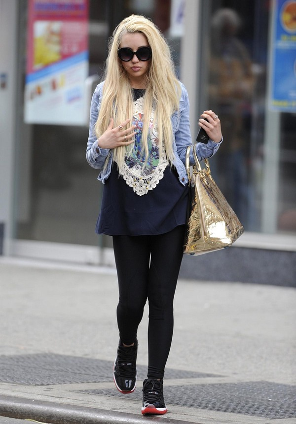 Amanda Bynes out and about in New York City on May 10, 2013