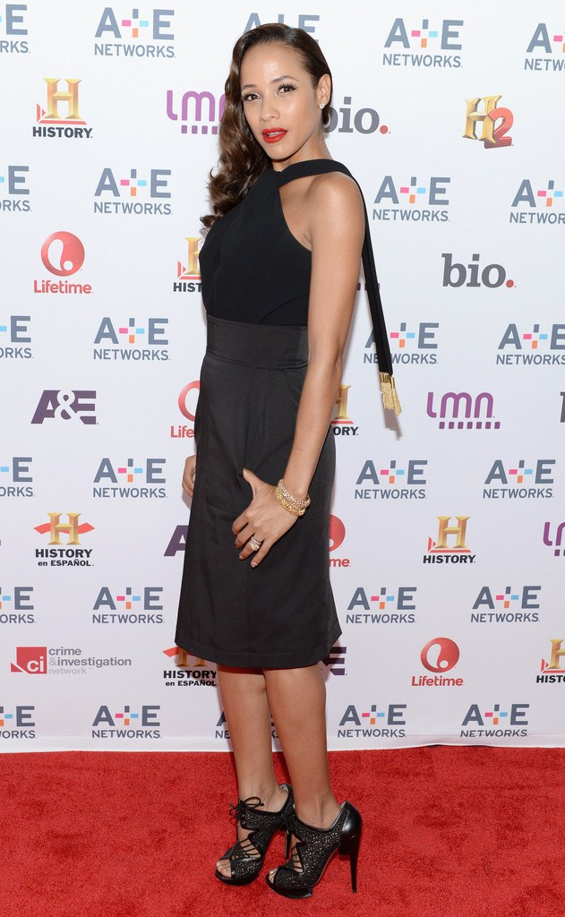 Dania Ramirez at the A+E Networks 2013 Upfront in New York City on May 8, 2013