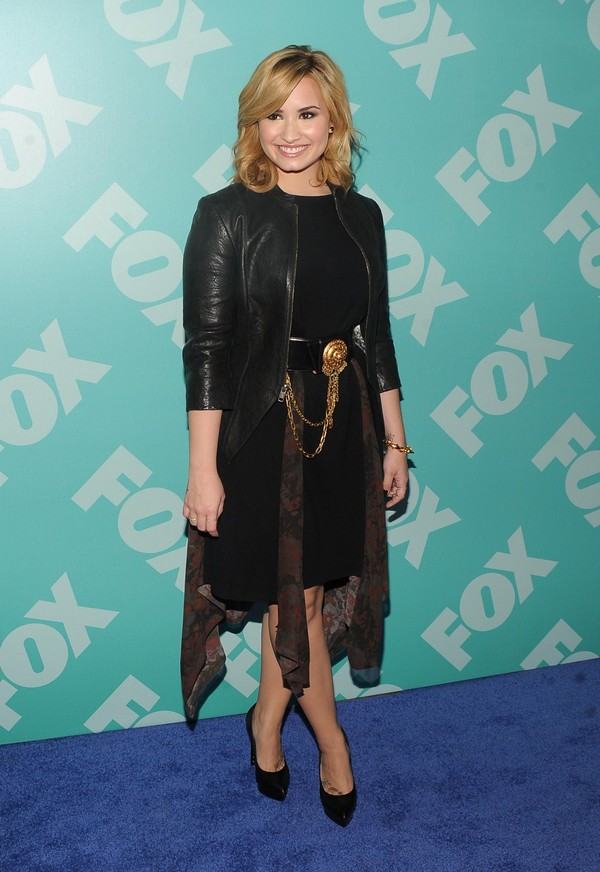 Demi Lovato at 2013 FOX Programming Presentation Post Party in NYC on May 13, 2013
