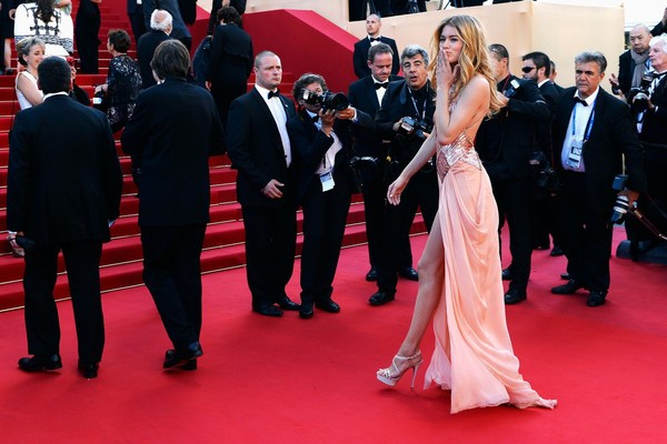 Doutzen Kroes attends the Premiere of 'Le Passe' at Cannes Film Festival on May 17, 2013
