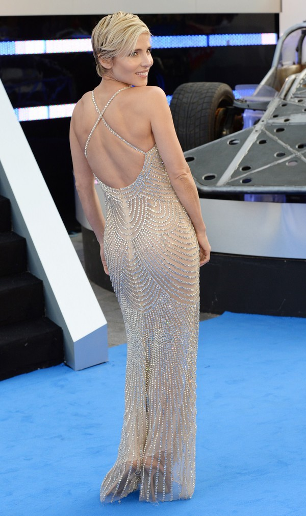 Elsa Pataky at 'Fast & Furious 6' After Party at Somerset House in London on May 7, 2013