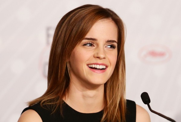 Emma Watson at The Bling Ring Press Conference during The 66th Cannes Film Festival on May 16, 2013