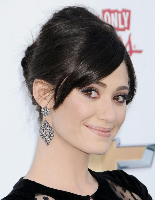 Emmy Rossum at 2013 Billboard Music Awards in Las Vegas on May 19, 2013