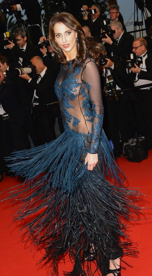 Frederique Bel Looking Gorgeous at 66th Annual 2013 Cannes Film Festival