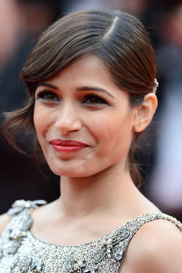 Freida Pinto at 'Jeune & Jolie' Premiere during The 66th Cannes Film Festival on May 16, 2013