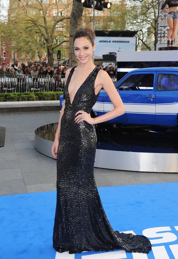 Gal Gadot at 'Fast & Furious 6' Premiere in London on May 7, 2013