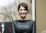 Gemma Arterton Looking Gorgeous in Black, at Screening of Her New Movie 'Byzantium' in London on May 28, 2013