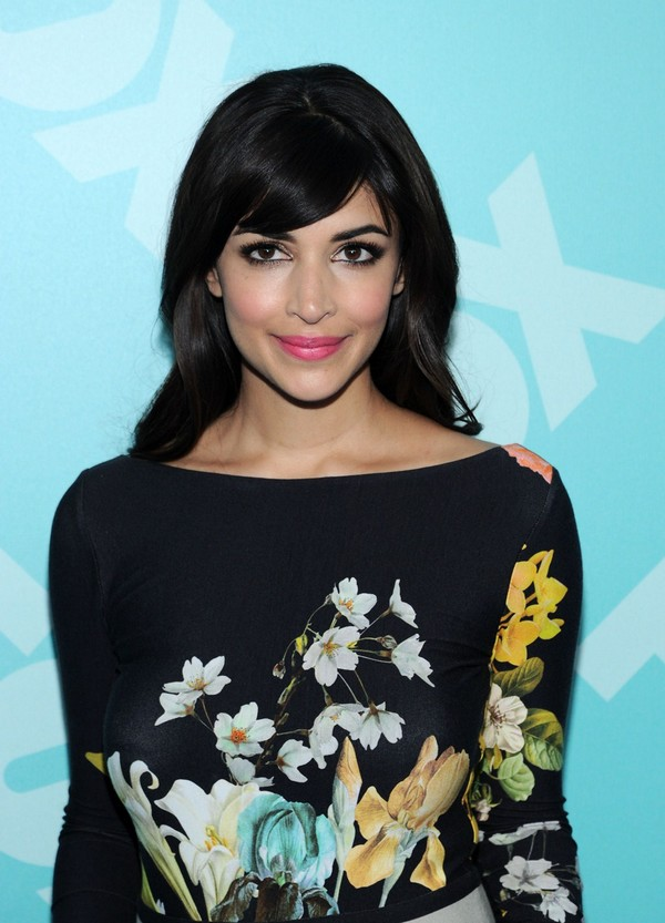 Hannah Simone at 2013 FOX Upfront Party in NYC on May 13, 2013