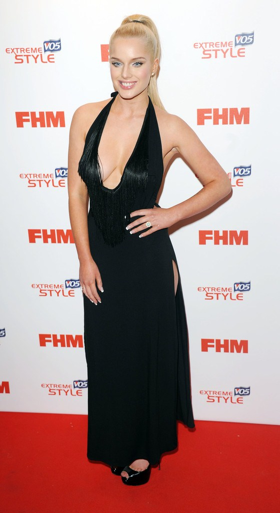 Helen Flanagan at FHM 100 Sexiest Women in the World 2013 Launch Party in London on May 1, 2013