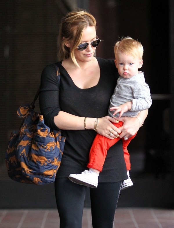 Hilary Duff at a Babies First Class in Sherman Oaks on May 8, 2013