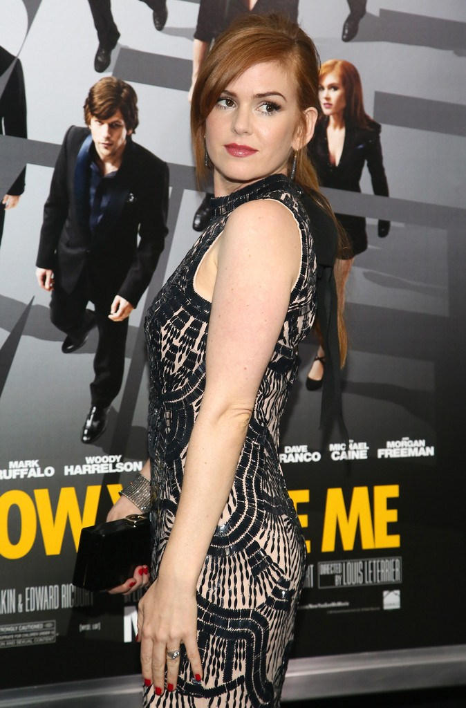 Isla Fisher at 'Now You See Me' Premiere in New York on May 21, 2013
