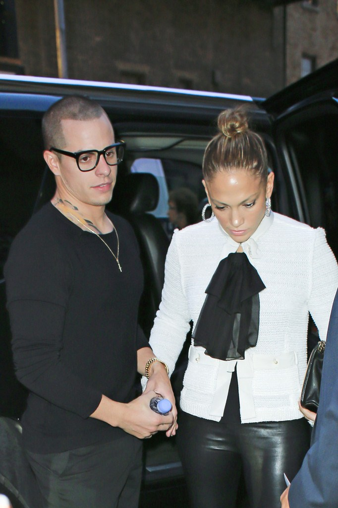 Jennifer Lopez at the Music Box Theatre in NY on May 7, 2013