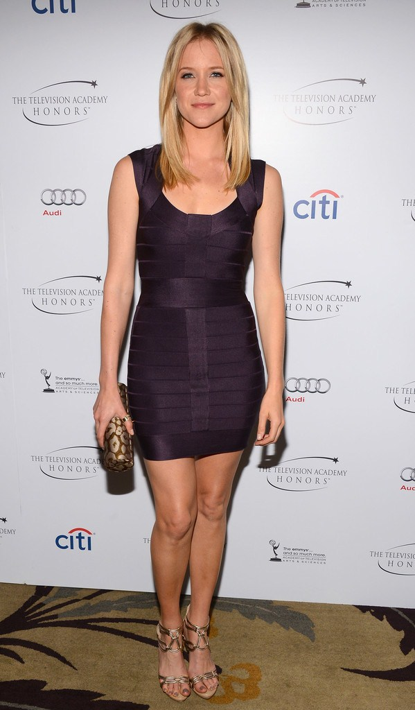 Jessy Schram at 6th Annual Television Academy Honors in Beverly Hills on May 9, 2013