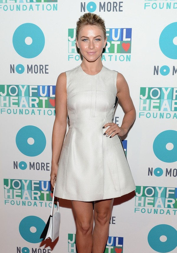 Julianne Hough at the 2013 Joyful Heart Foundation Gala in NYC on May 9, 2013