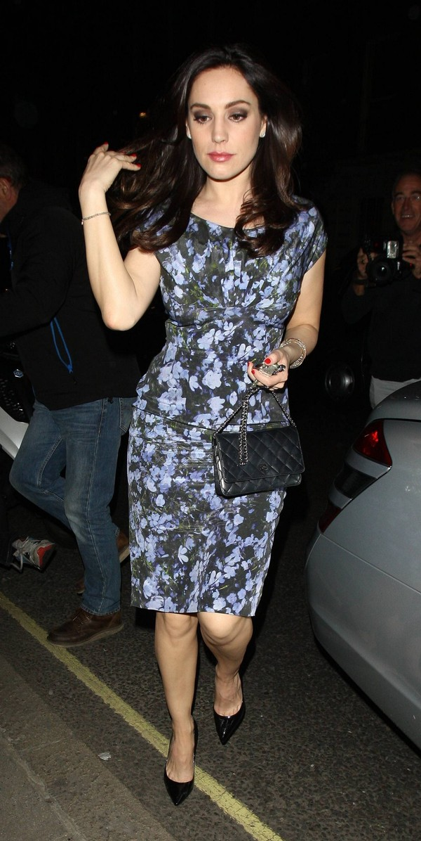 Kelly Brook leaving ITV Studios in London on May 8, 2013