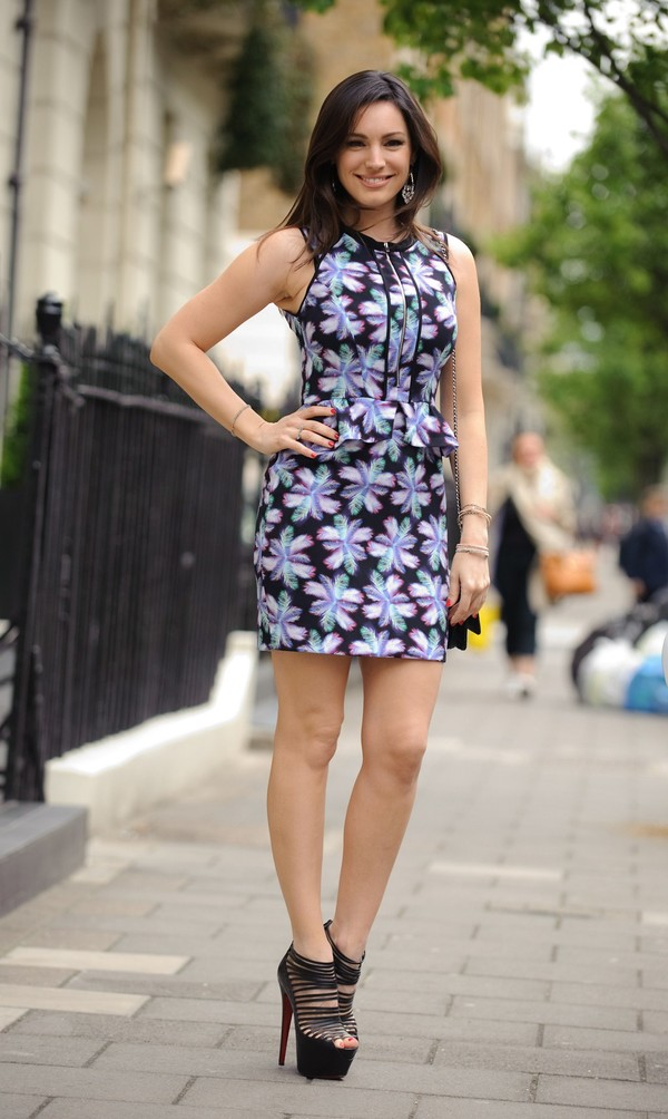 Kelly Brook out in London on May 15, 2013