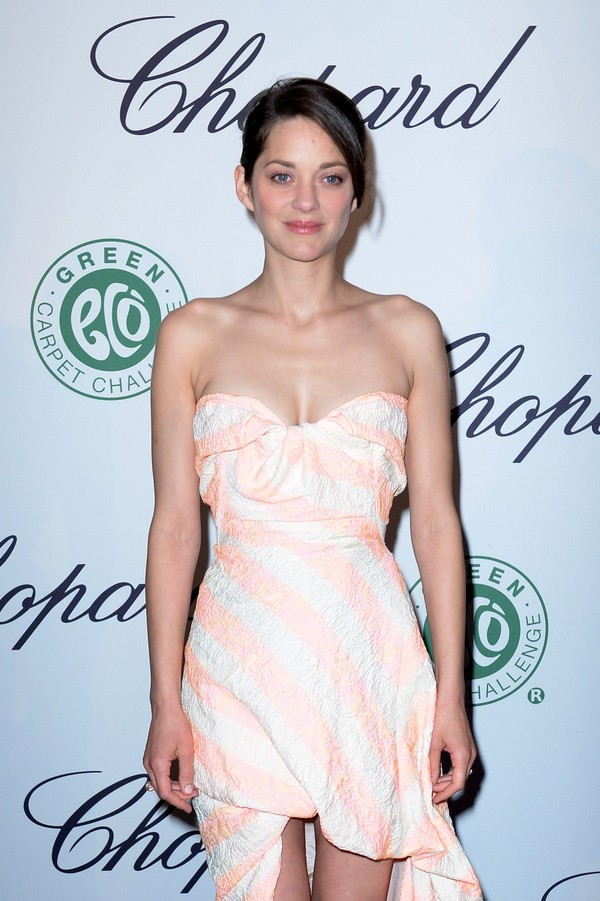Marion Cotillard at Chopard Lunch during the 66th Annual Cannes Film Festival on May 17, 2013