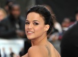 Michelle Rodriguez at 'Fast & Furious 6' Premiere in London on May 7, 2013