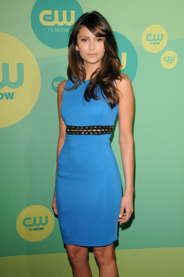 Nina Dobrev at CW Network 2013 Upfront in NYC on May 16, 2013