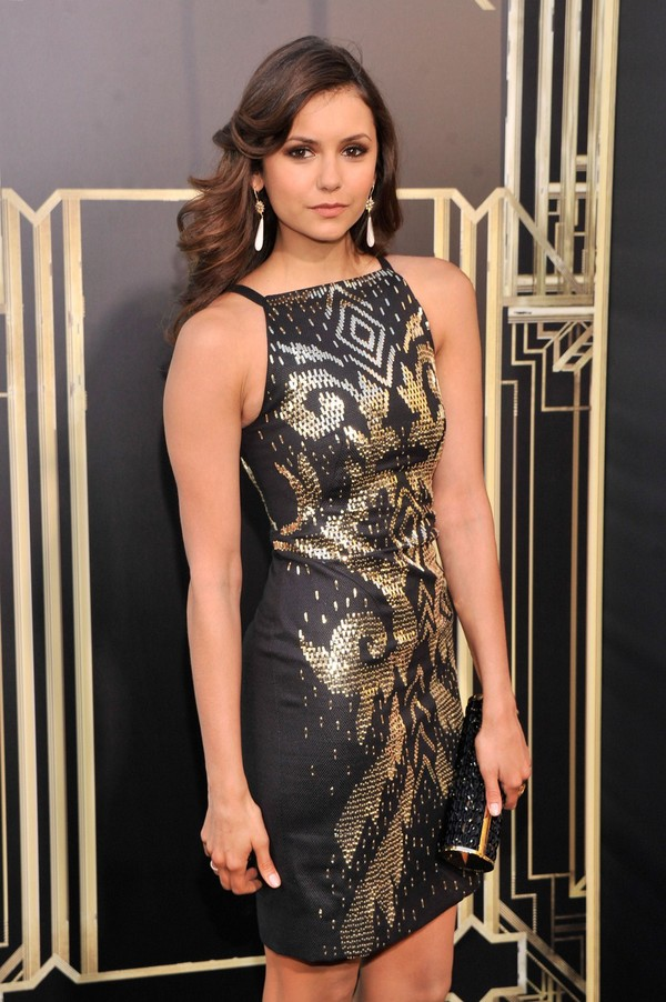 Nina Dobrev at 'The Great Gatsby' Premiere in NYC on May 1, 2013