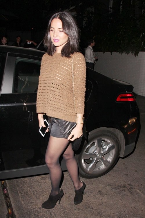 Olivia Munn leaves Chateau Marmont in Hollywood on May 3, 2013