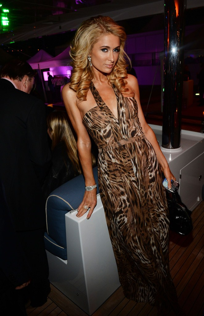Paris Hilton at 'Seduced and Abandoned' Premiere and After Party in Cannes on May 20, 2013