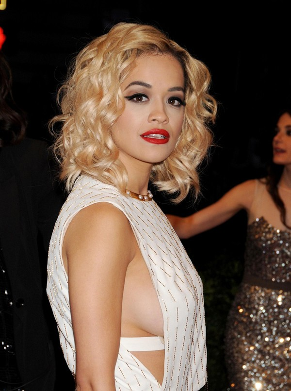 Rita Ora at Costume Institute Benefit Gala in New York on May 6, 2013