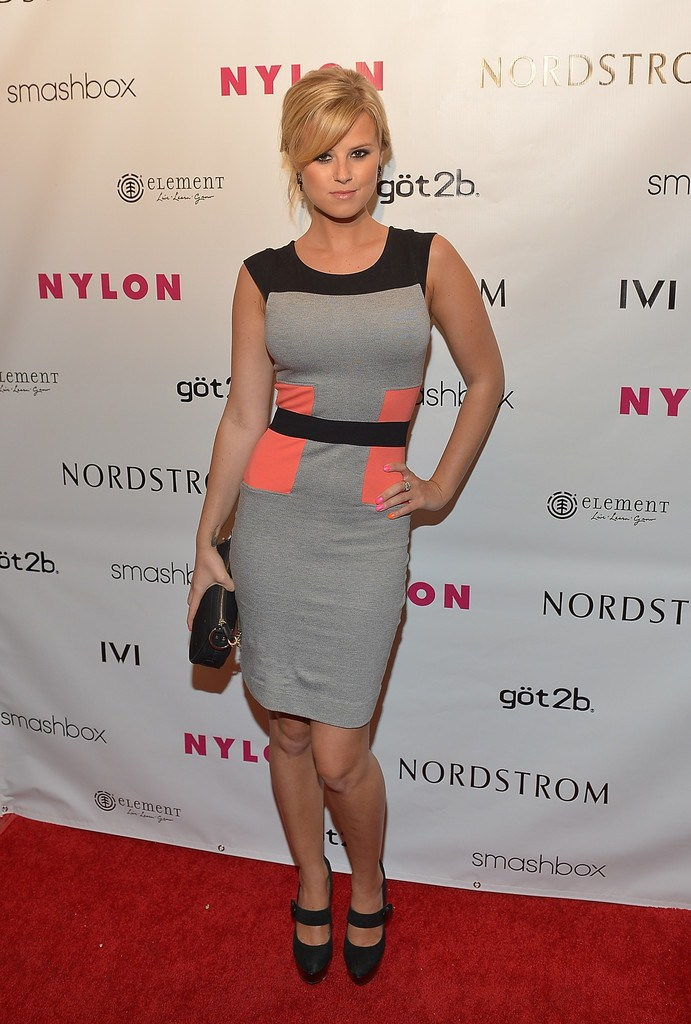 Sasha Jackson at NYLON Annual May Young Hollywood Issue Party at The  Roosevelt Hotel in Hollywood on May 14, 2013