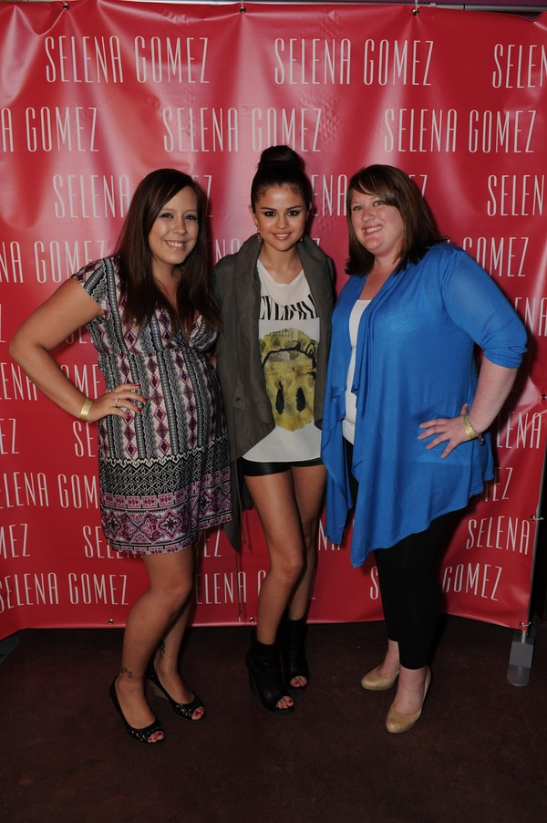 Selena Gomez at the Stars Dance Listening Party in Miami on May 11, 2013