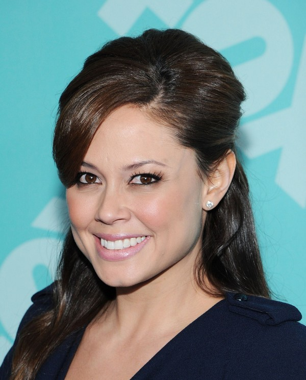 Vanessa Lachey at 2013 FOX Upfront Party in NYC on May 13, 2013