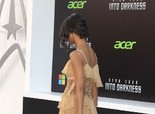 Zoe Saldana at 'Star Trek Into Darkness' Premiere in Hollywood on May 14, 2013