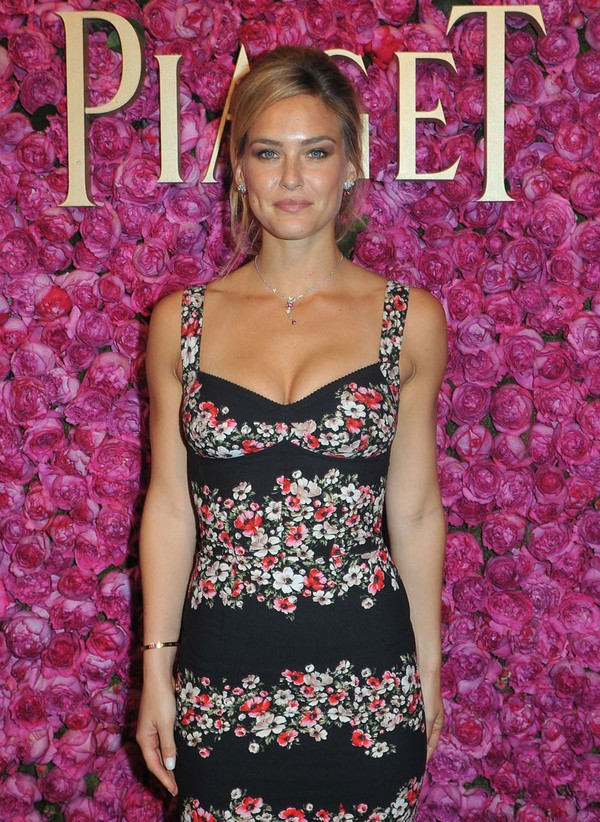 Bar Refaeli Looking Gorgeous, at The Piaget Boutique in Paris on June 14, 2013