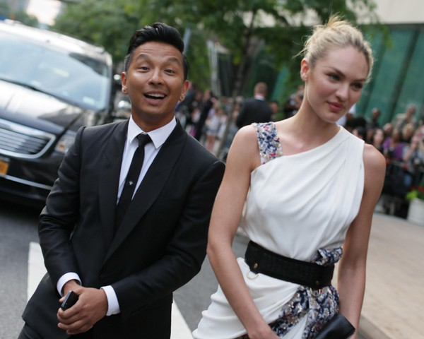 Candice Swanepoel at 2013 CFDA Fashion Awards in New York on June 3, 2013