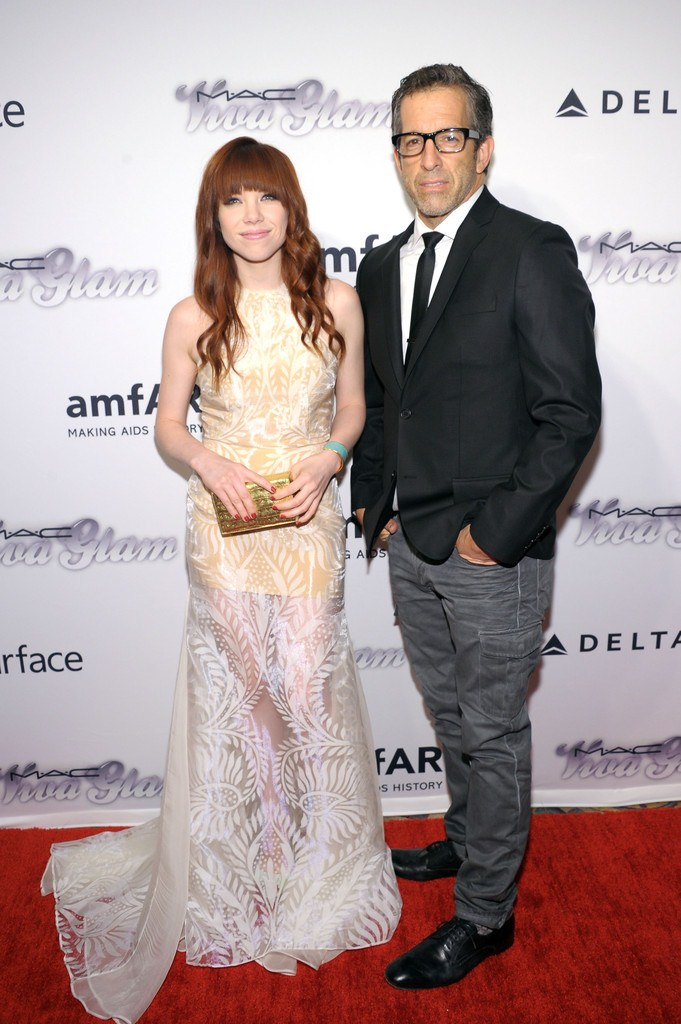 Carly Rae Jepsen at 4th Annual amfAR Inspiration Gala in NY on June 13, 2013