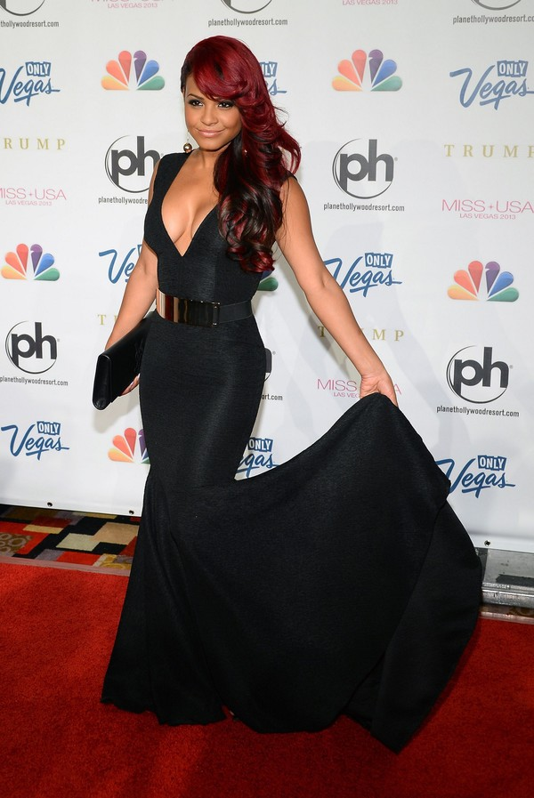 Christina Milian at 2013 Miss USA Competition in Las Vegas on June 16, 2013